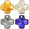 CRYSTALLIZED™ #6866 Crystal Cross Pendants