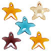 CRYSTALLIZED™ #6721 Crystal  Starfish Pendants