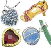 Metal Alloy Pendants