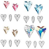 CRYSTALLIZED™ Elements #6240 Crystal Heart Pendants