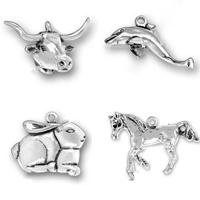 Sterling Silver Animal Pendants