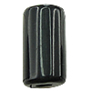 Solid Black Acrylic Beads, Tube, solid color, more colors for choice, 5x9mm, Hole:Approx 2mm, Approx 3000PCs/Bag, Sold By Bag