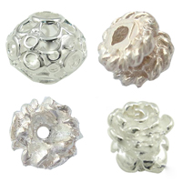 Sterling Silver Hollow Beads