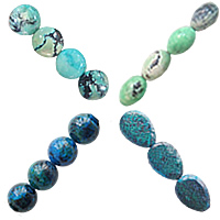 Natural Grass Turquoise Beads