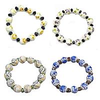Porcelain Crystal Bracelets
