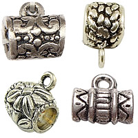 Zinc Alloy Bail Beads