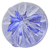 Acrylic Shank Button, Flat Round, transparent, more colors for choice, 11x8mm, Hole:Approx 3mm, Approx 1192PCs/Bag, Sold By Bag