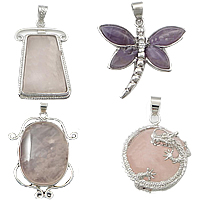 Natural Quartz Pendants