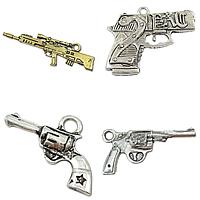Zinc Alloy Gun Pendants