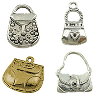 Zinc Alloy Handbag Pendants