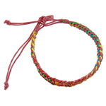 Friendship Bracelets, Cotton Cord, woven, Length:6.5 Inch, 12Strands/Bag, Sold By Bag