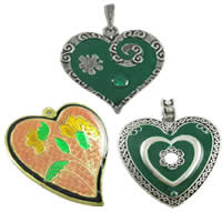 Enamel Metal Alloy Pendants
