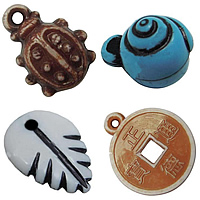 Antique Acrylic Pendants