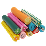 Ploymer Clay Cane, Polymer Clay, mixed, 50x10mm, 100PCs/Bag, Sold By Bag