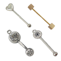 Brass Piercing Barbell