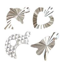 Fancy Cut Sterling Silver Pendants