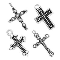 Sterling Silver Cross Pendants