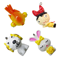 Cartoon Resin Pendants