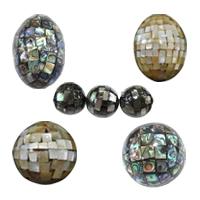 Mosaic Style Shell Beads