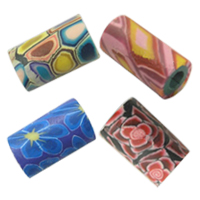 Tube Polymer Clay Beads