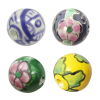 Brushwork Porcelain Beads