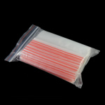 Zip Lock Bag, Plastic, Rectangle, transparent & different size for choice, Sold By Bag