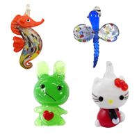 Animal Lampwork Pendants