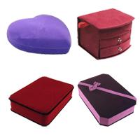 Velveteen Jewelry Set Box