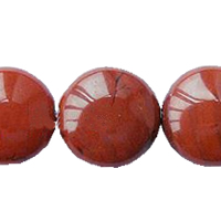 Red Stone Bead