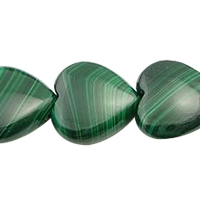 Malachite Ruby Zoisite Bead