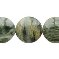Green Hair Stone Beads