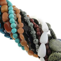 Mixed Gemstone Beads