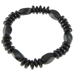 Hematite Bracelet, different styles for choice, 7x12mm, Length:6.5 Inch, Sold By Strand