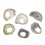 Ice Quartz Agate Pendants, Nuggets, Sold By PC