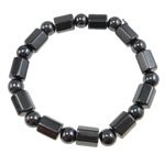 Hematite Bracelet, different styles for choice, Grade A, 8x10mm,8mm, Length:7.5 Inch, Sold By Strand