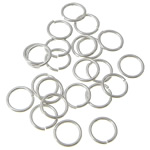 Sterling Silver Open Jump Ring, 925 Sterling Silver, Donut, plated, more colors for choice, Sold By PC