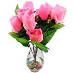 Artificial Flower Home Decoration, Plastic, more colors for choice, 55x35cm, Sold By PC