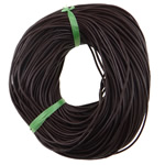 Cowhide Leather Cord, more colors for choice, nickel, lead & cadmium free, 1.5mm, Approx 100m/Lot, Sold By Lot