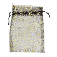 Organza Jewelry Pouches, more colors for choice, 12x17cm, Sold By PC