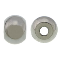 Stainless Steel Beads, 304 Stainless Steel, Drum, plated, more colors for choice, 5x7mm, Hole:Approx 2mm, Sold By PC