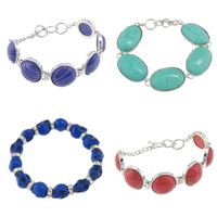 Turquoise Brass Bracelets