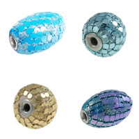 Aluminum Slice Indonesia Beads