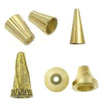 Brass Cone Beads