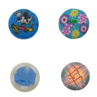 2 Hole Polymer Clay Button