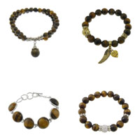Tiger Eye Stone Bracelets