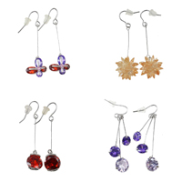 Cubic Zircon (CZ) Dangle Earring