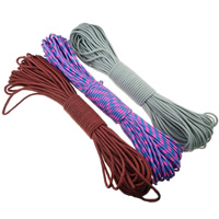 Paracord, 330 Paracord, for survival bracelet, more colors for choice, 4mm, 31m/Lot, Sold By Lot