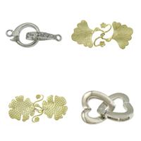 Brass Interlocking Clasp