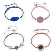 Brass Shamballa Bracelets