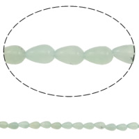 Australia Chrysoprase Bead, Teardrop, natural, Hole:Approx 1mm, Length:Approx 15.7 Inch, 44PCs/Strand, Sold By Strand